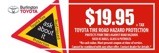 Toyota Tire Road Hazard Protection