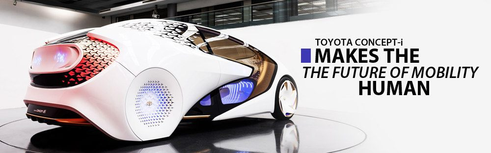 Toyota Concept-I Makes The Future