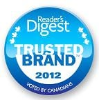 Reader's Digest Trusted BrandTM