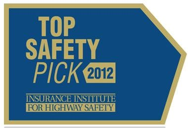 IIHS Top Safety Pick Award