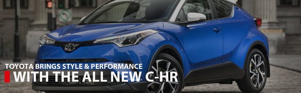 The All New Toyota CHR Brings Style & Performance