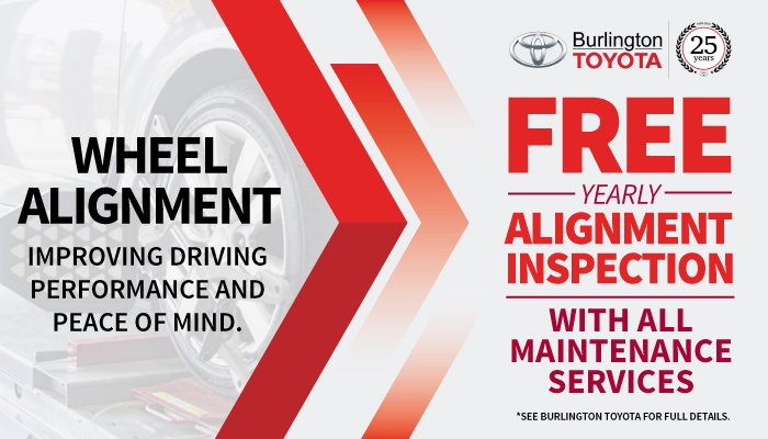 Free Yearly Alignment Inspection